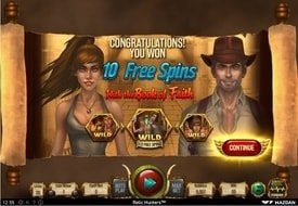 Relic Hunters Free Spins