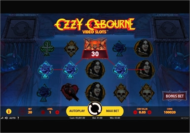 Ozzy Osbourne by NetEnt