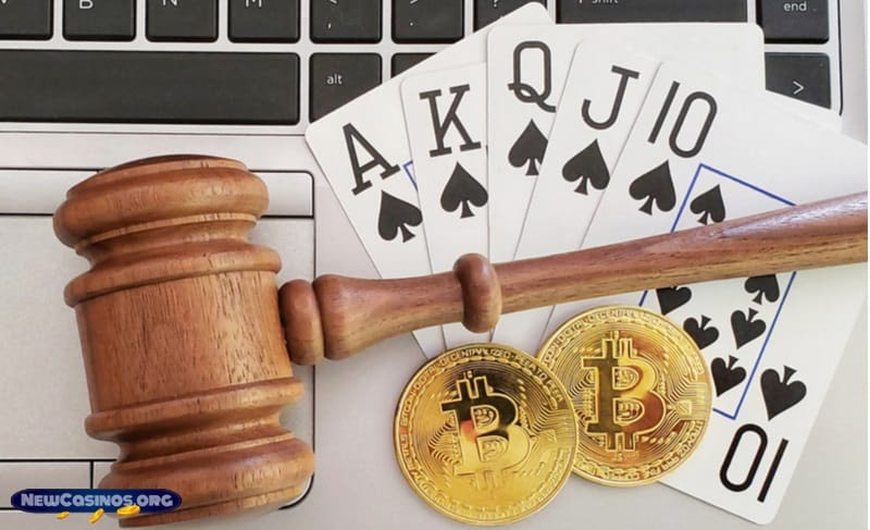 Is Gambling Online With Cryptos Legal?