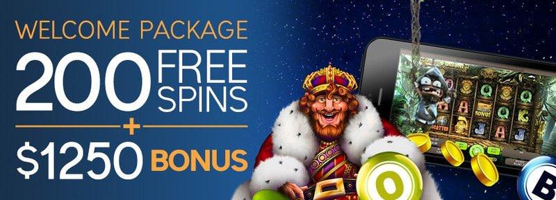 CyberSpins Casino Welcome Bonus Package