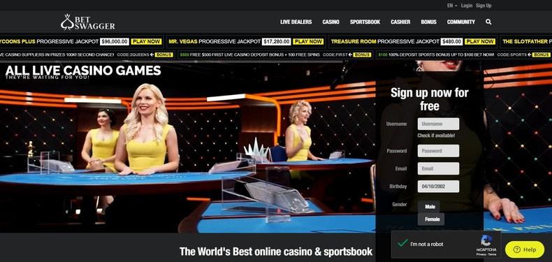 BetSwagger Casino