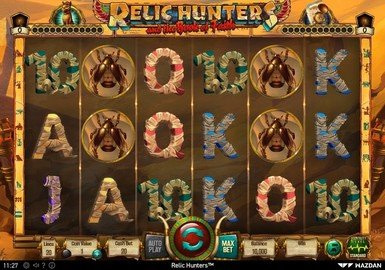 Relic Hunters and the Book of Faith Slot