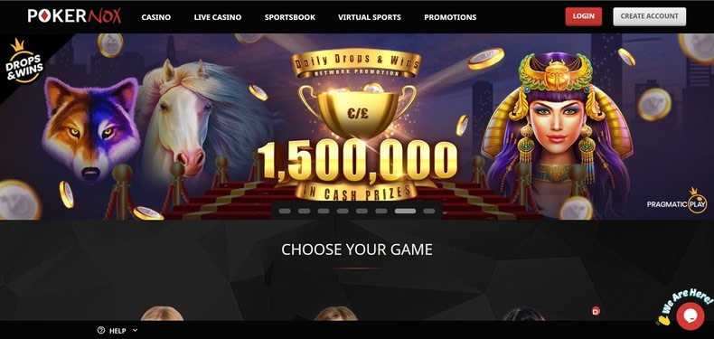 PokerNox Casino & Sportsbook