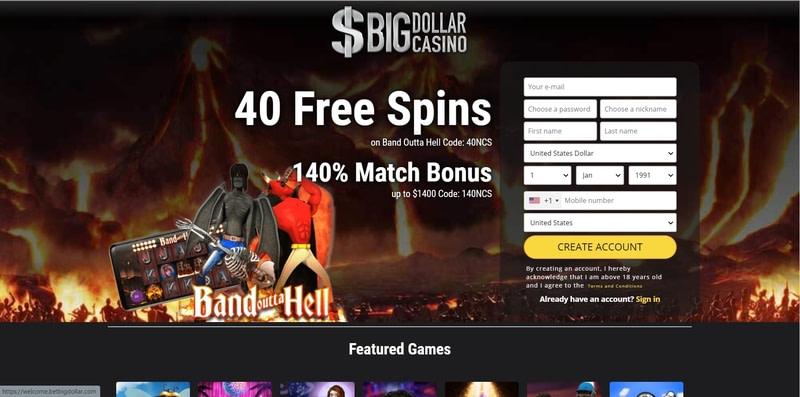 Bonus Putaran Gratis Kasino Dolar Besar