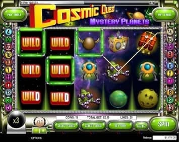 Cosmic Quest II: Mystery Planet Slot