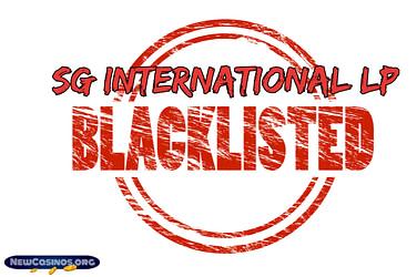 SG International LP Casinos Blacklisted