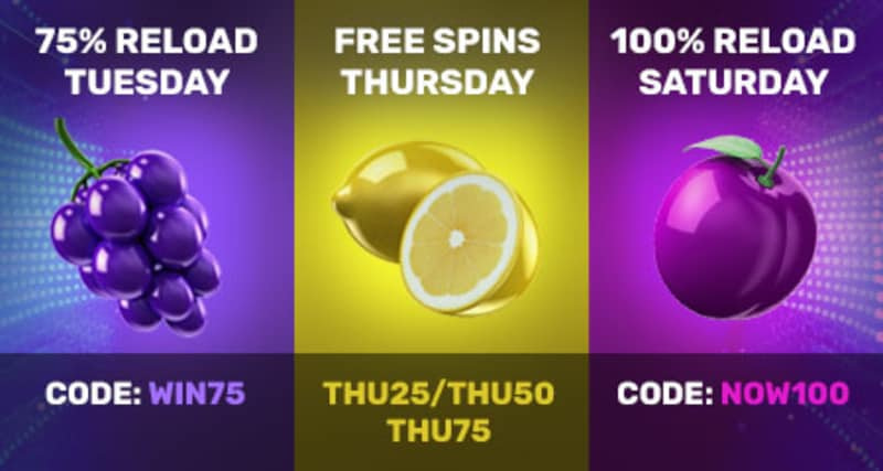 Drake Casino Reload Bonus