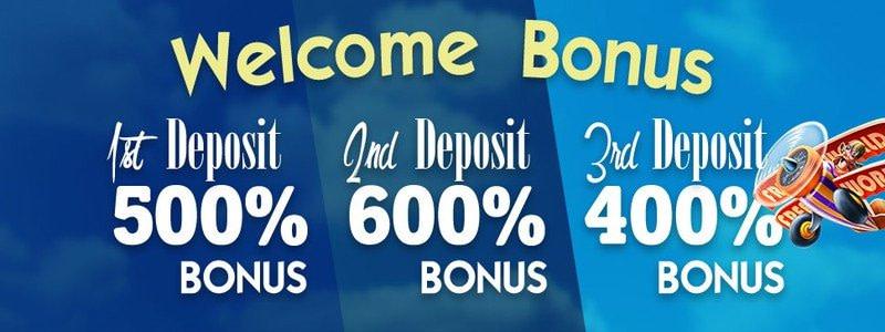 Downtown Bingo Bonus Package