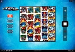 Break Away Deluxe Free Spins