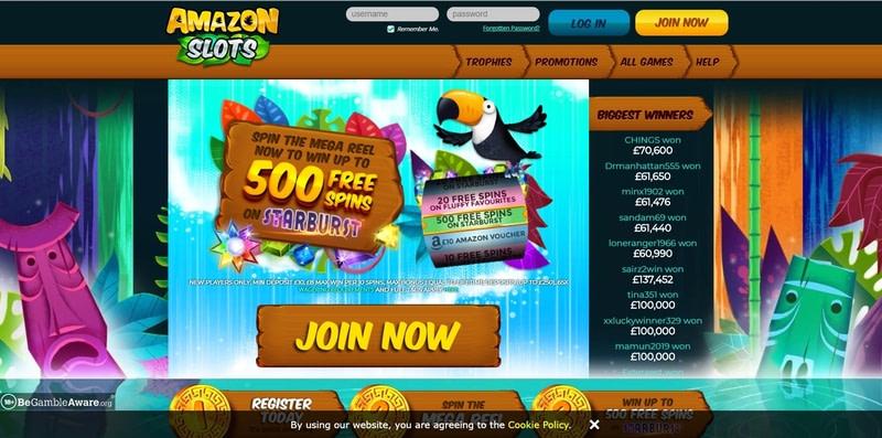 Amazon Slots Casino Website