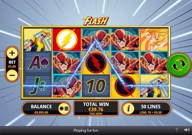 The Flash with Wild Symbols
