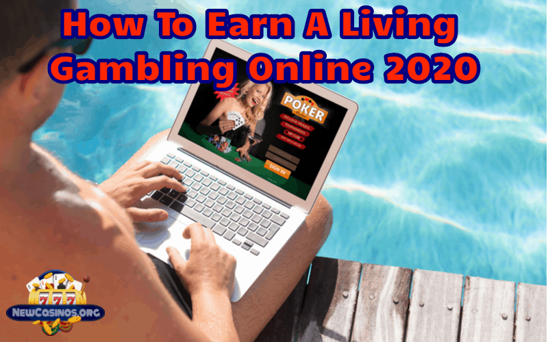 Make a living gambling online
