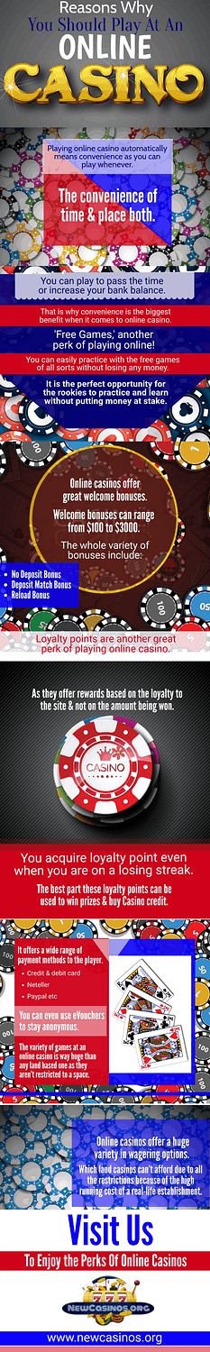 Reasons Why You Should Play at an Online Casino