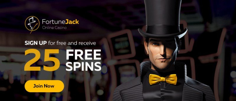 FortuneJack Casino 25 Free Spins