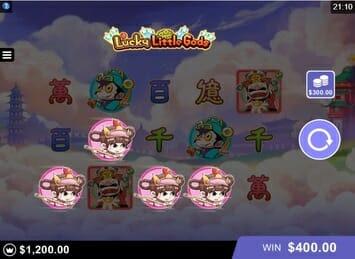 Lucky Little Gods Bonus Round